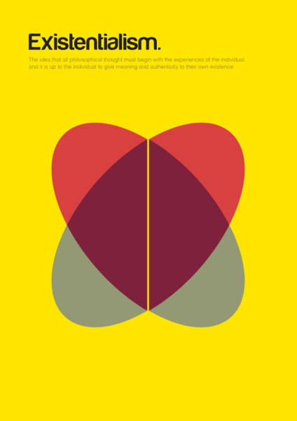 Awesome Minimalist Philosophy Posters By Genis Carreras Ultralinx